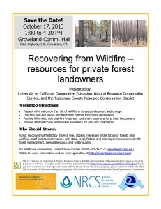 10-17-2013 Rim fire workshop Flyer - Save the Date